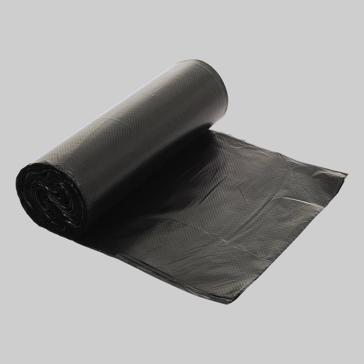 Black Flat Top Bin Liners X120 Londark