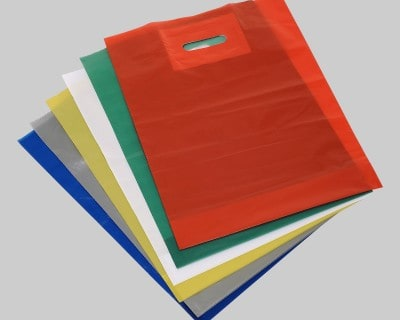Patch Handle Carrier Bags