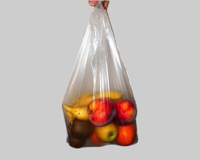 Clear Vest Carrier Bags (x1000)